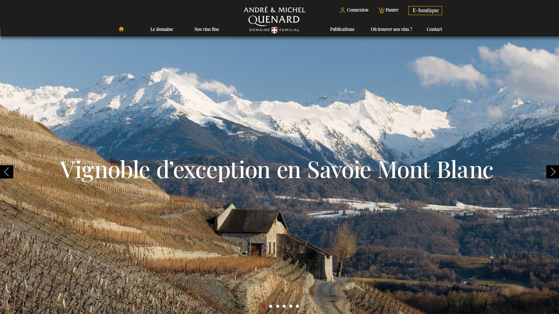 Creation site vigneron