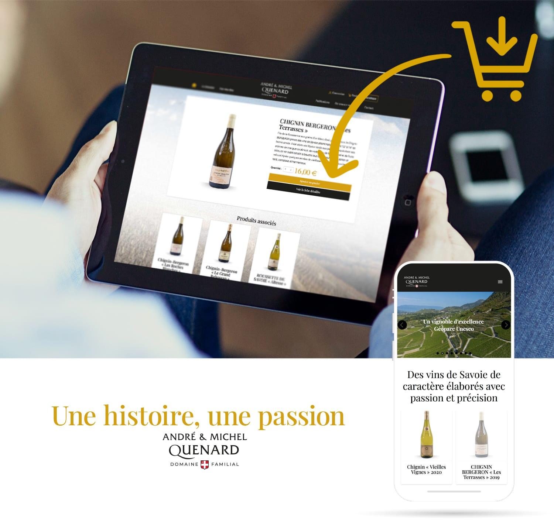 creation boutique en ligne vigneron