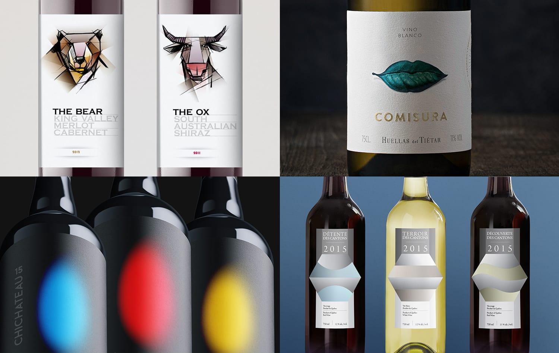 Conception étiquette bouteille