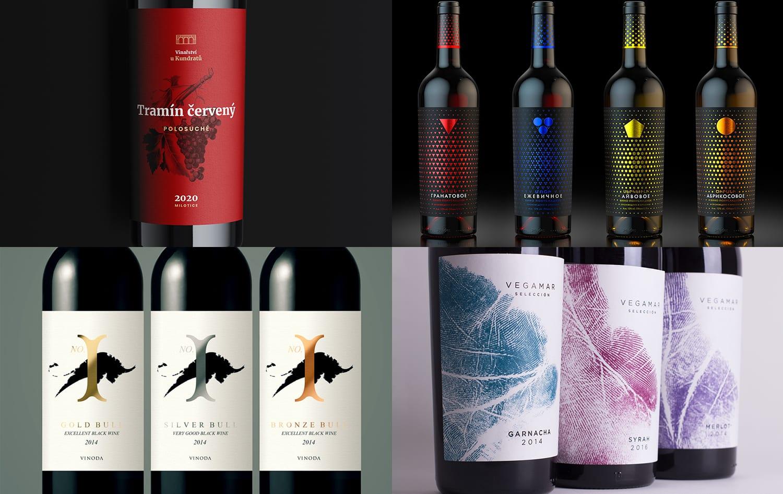 Design étiquette vin