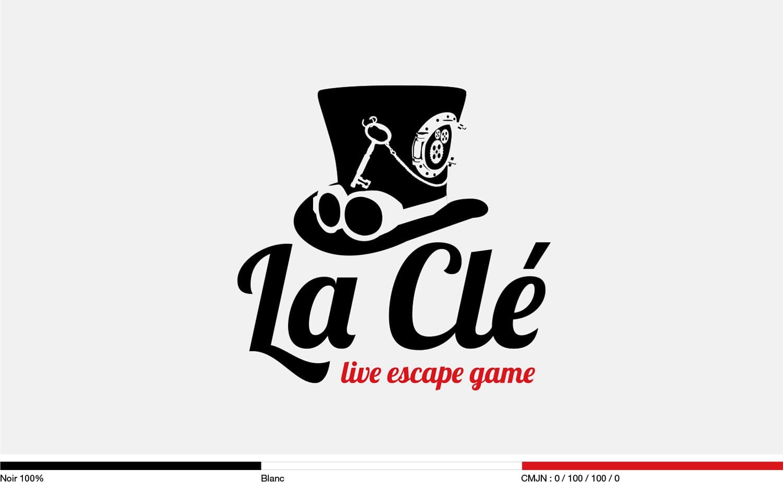 design logo escape game