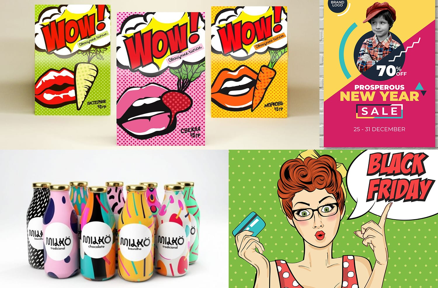 graphisme pop art