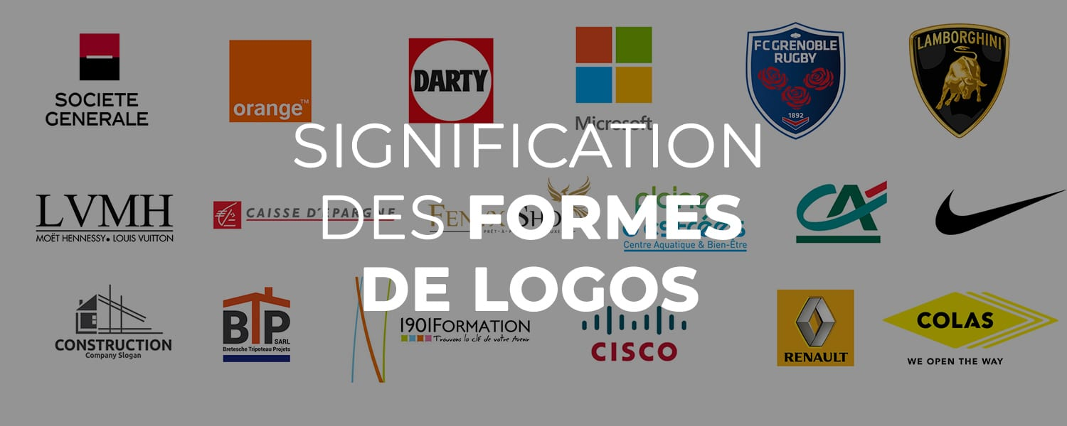 Signification forme logo
