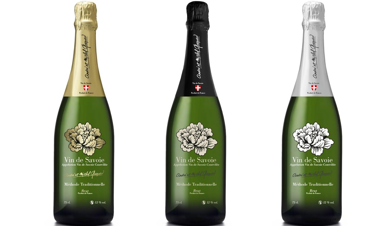 Création étiquette Champagne