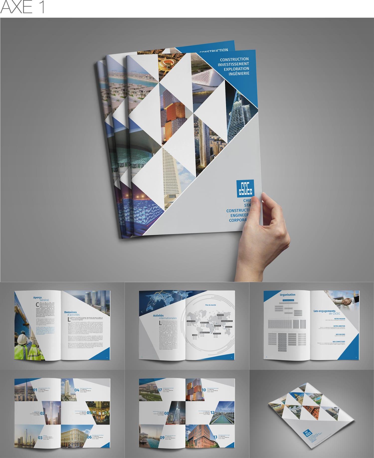 design graphique catalogue