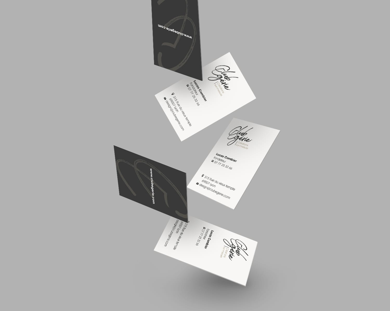 design carte de visite