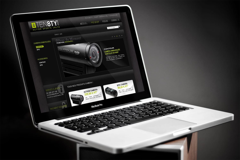web design vente en ligne
