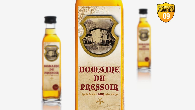 Création étiquette huile