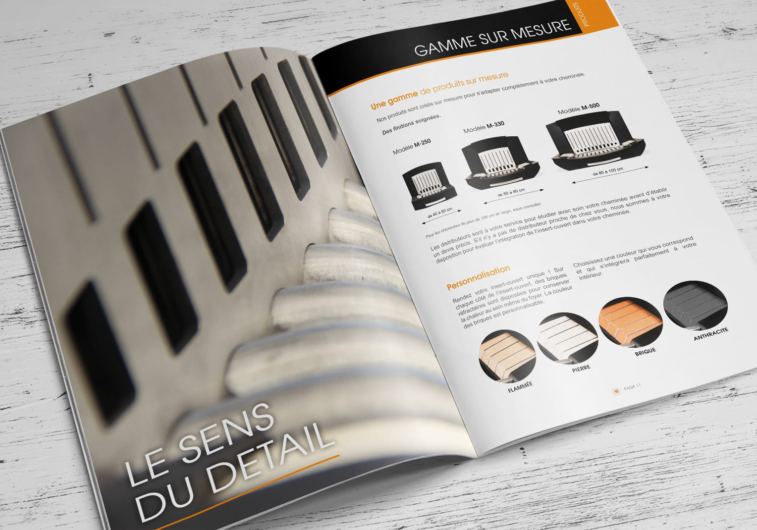 design catalogue produit