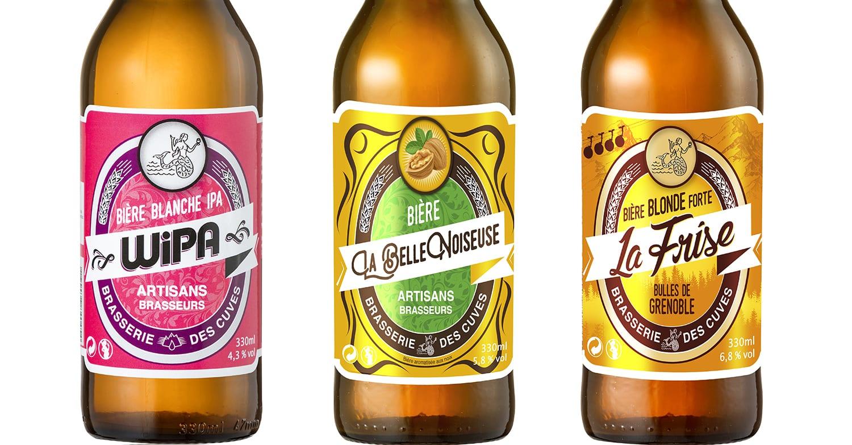 Création étiquette bière