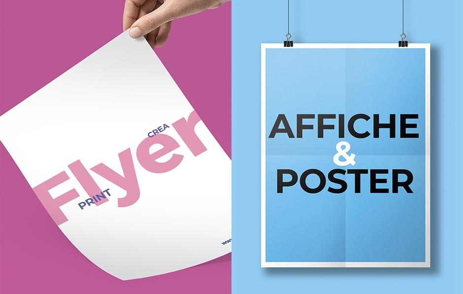 création affiche Flyer Grenoble