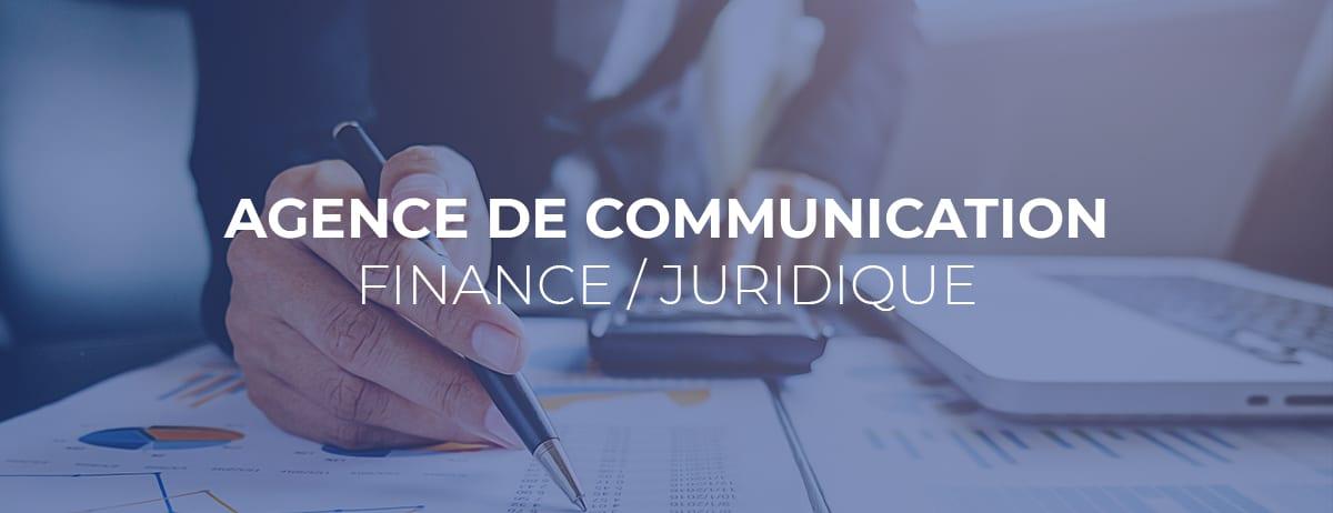agence de communication finance juridique
