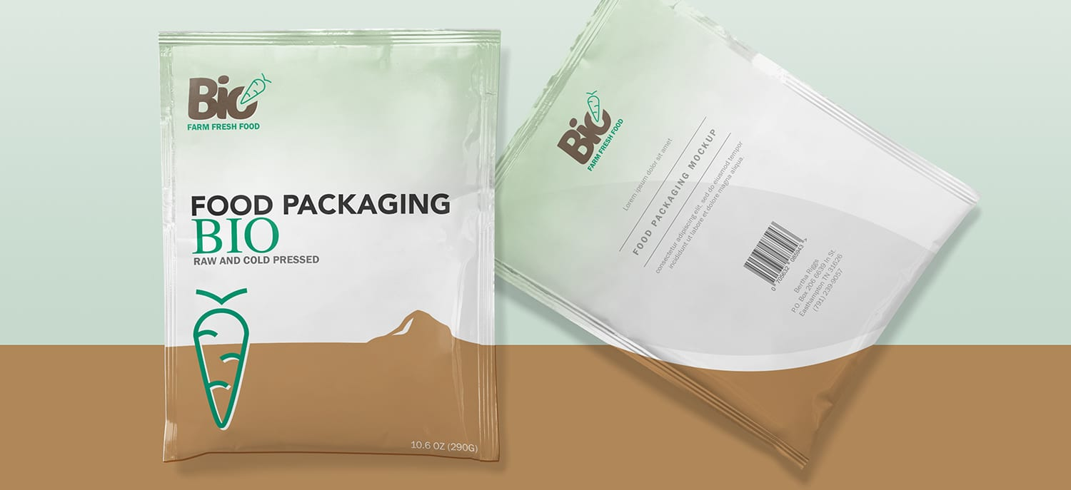 Conception packaging Bio