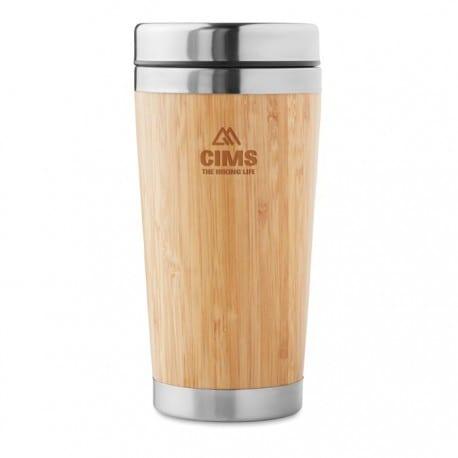 mug bamboo personnalise