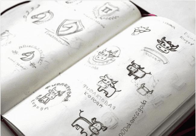 création logo design