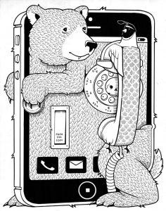 dessin smartphone