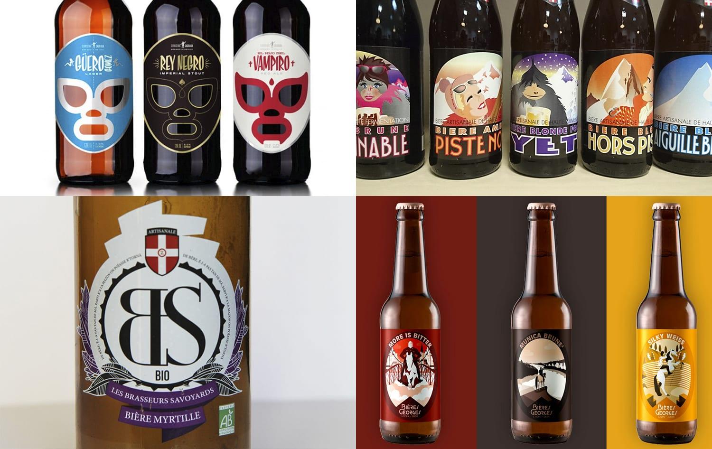 Conception étiquette bière