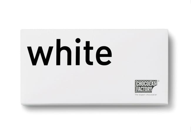 packaging chocolat blanc