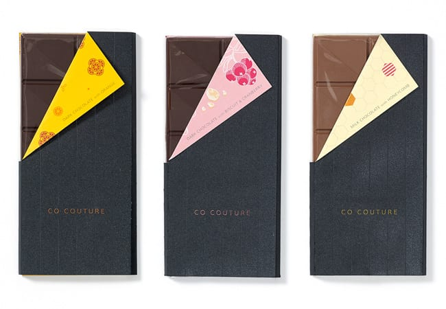 packaging chocolat couture