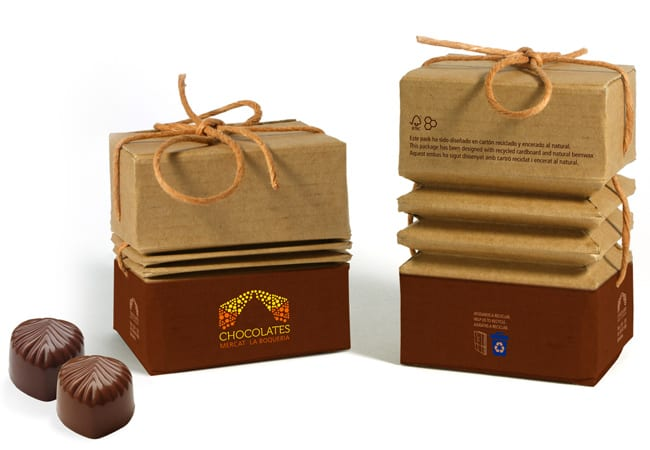 packaging chocolat ecologique