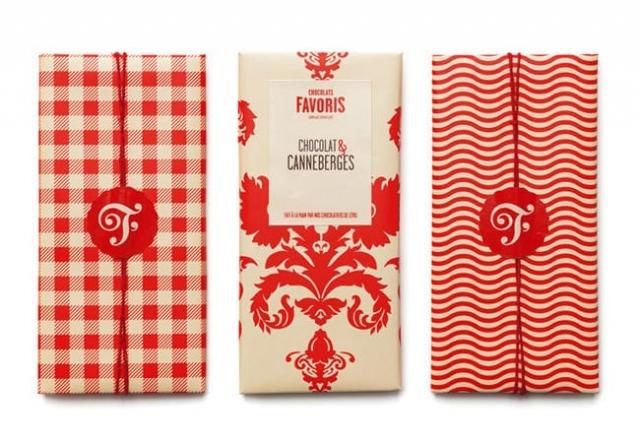 packaging chocolat favoris