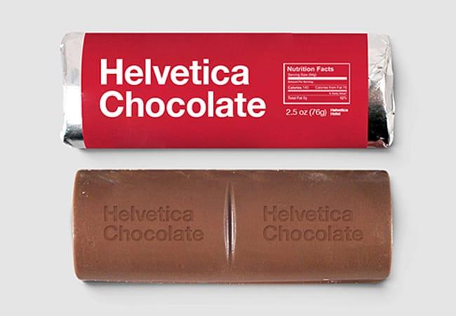 packaging helvetica
