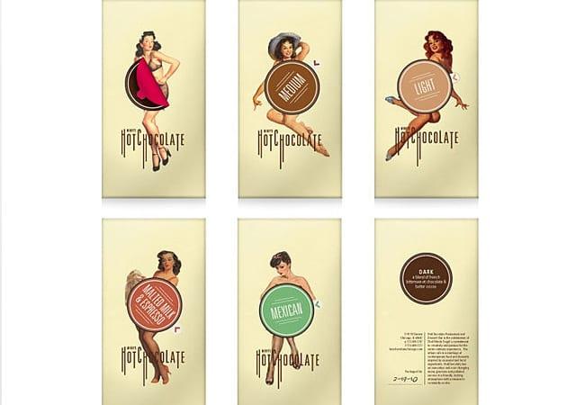packaging chocolat hot