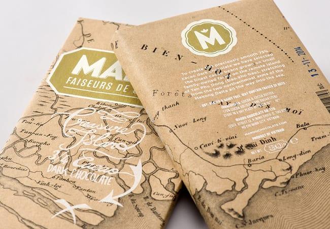 packaging- chocolat marou