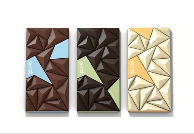 packaging- chocolat origami