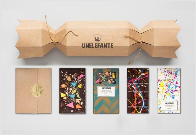 packaging chocolat peintures