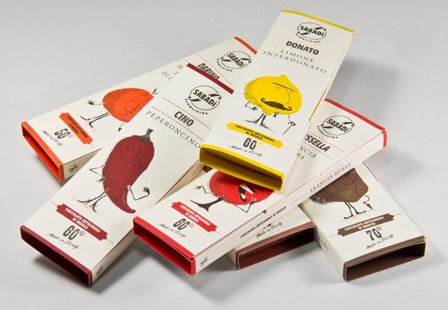 packaging chocolat sabadi