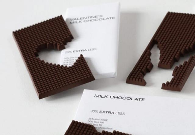packaging chocolat valentin