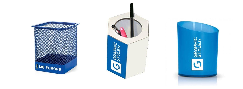 pot crayon personnalisé