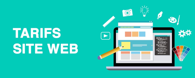 tarifs création site web