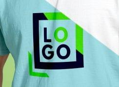 logo marque tee-shirt