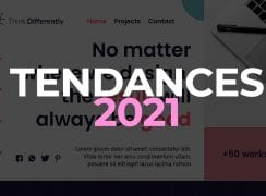 Tendance graphique 2021
